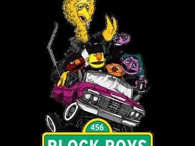 Block Boys ShirtDesign