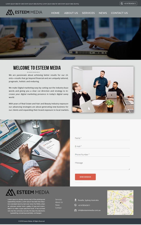 Web Design Templates Freelancer