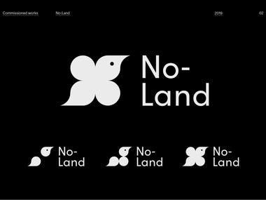 visual identity/logo/website design for studio Noland