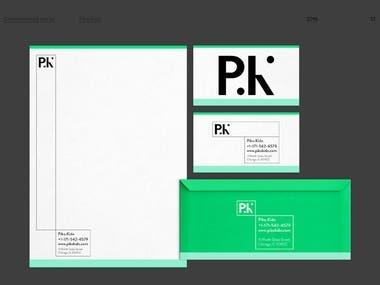 Identity/ Logo/business card/website design for Piko.Kido