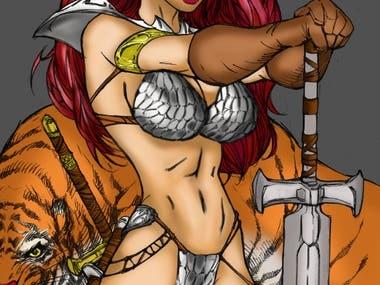 Red Sonja - Colors Comics