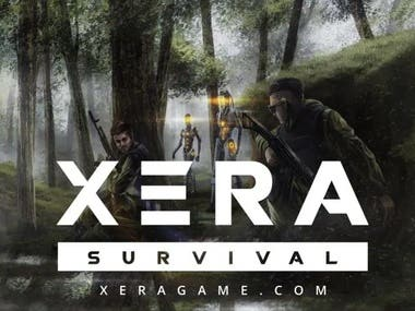 Steam Store page translation of XERA: Survival