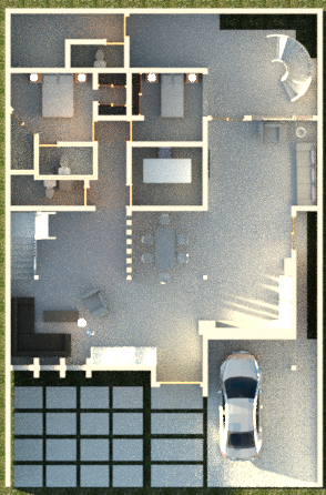 diseño de vivenda unifamiliar