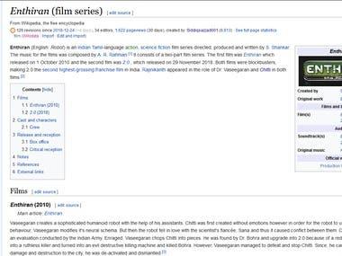 Enthiran (film series)
