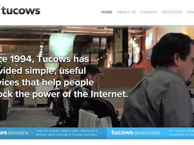 1) https://www.tucows.com