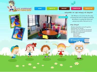Pre school website