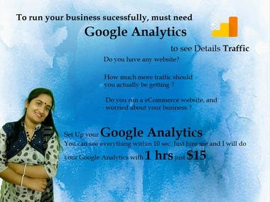 Google Analytics For Website/eCommerce website/ Wordprss