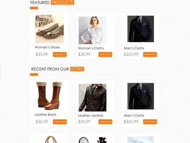 E-Commerce || Web Designing