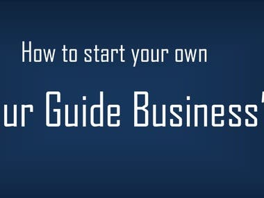 How to Start Tour Guide Business-Ebook