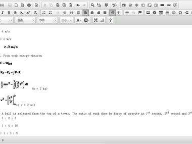 WYSIWYG HTML editor(simple paste then upload automatically )