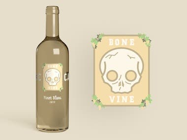 Bone Vine White Wine