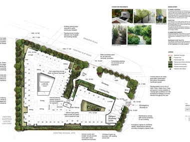 Sample Landscape Design (DA) Project