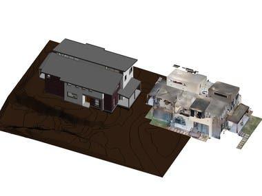 Convert Point Cloud into 3D model