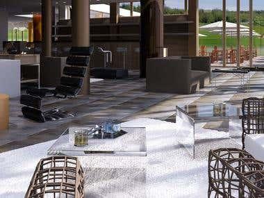 interior Golf Club