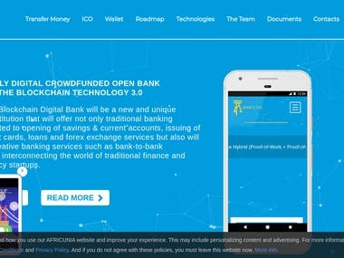 DIGITAL CROWDFUNDED OPEN BANK BASED ON THE BLOCKCHAIN