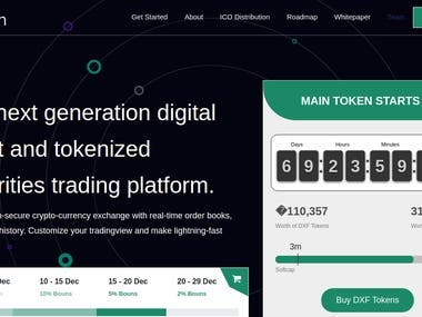 Tokenized Securities Trading Platform