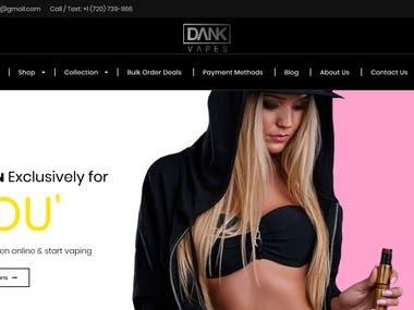 Dank Vape Website