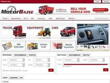 Motorbazee(Website)