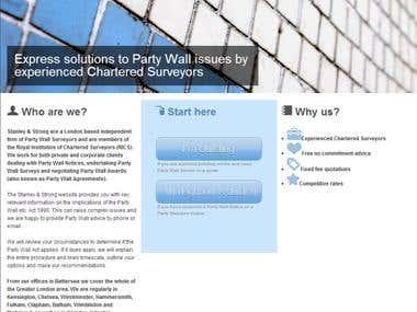 London Party Wall Surveys