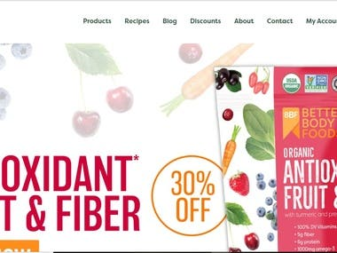 Woocommerce + Paypal + Stripe Website