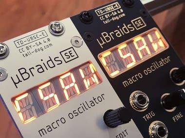 µBraids SE Eurorack Module