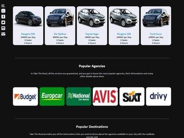 Car Rental Website