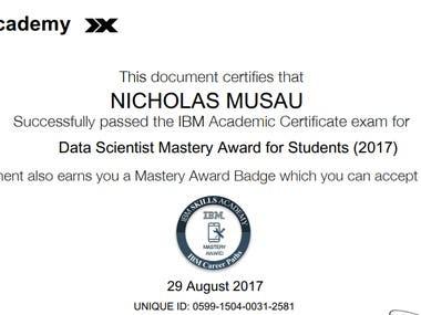 DATA SCIENCE MASTERY
