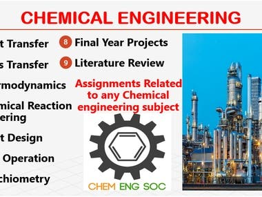 Chemical Engineering Projects
