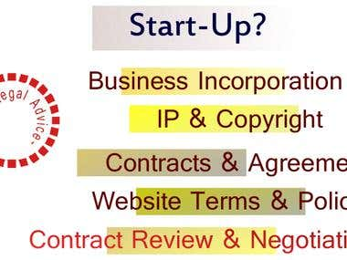 Our Service for Start-Ups
