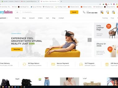 Web Development - Woocommerce