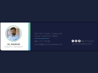 Email Signature Template Design