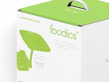 Foodics Packaging Concept