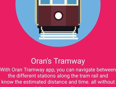 Android App for Tramway Map