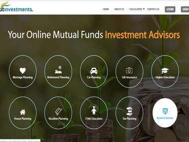 Platform with Investment advising solutions