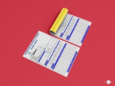 Job Card Template