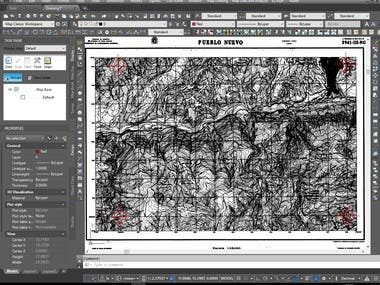 Georeferencing Of Scanned Maps