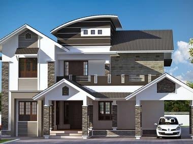 again exterior house design
