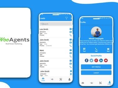 App Design Mock up