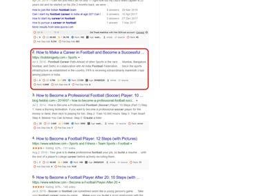 Top Ranking Blog