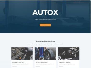 Auto Repair - Website design , development
