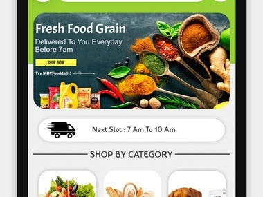 MDV - Online Grocery Shopping