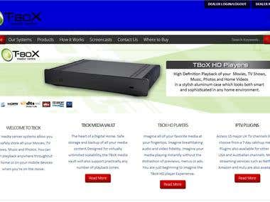 Media/ Sound System Company Website
