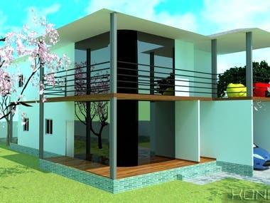 Exterior & Interior design for mr. S. M. house