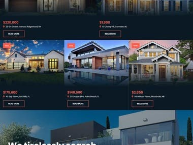 Real Estate Application