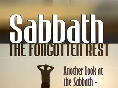 SABBATH book design