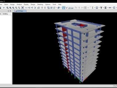 Structural Analysis (ETABS)