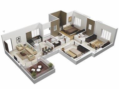 Architectural Design (3D MAX)