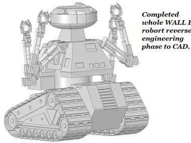 wall e robot