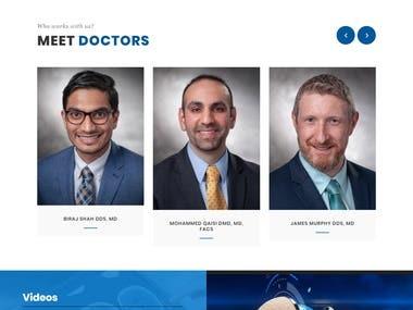 Website for OMHNA Oral and Maxillofacial