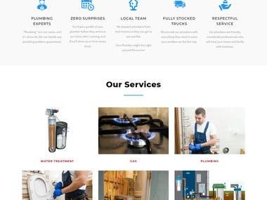 Website for Crown Plumbing